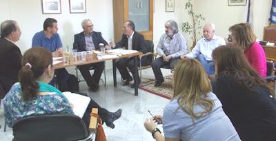 ΠΕΡΙΦΕΡΕΙΑΚΗ ΕΝΟΤΗΤΑ       ΒΟΙΩΤΙΑΣ: Συνάντηση Γιώργου Μουλκιώτη με τον Ειδικό Γραμματέα Επιθεώρησης  Περιβάλλοντος