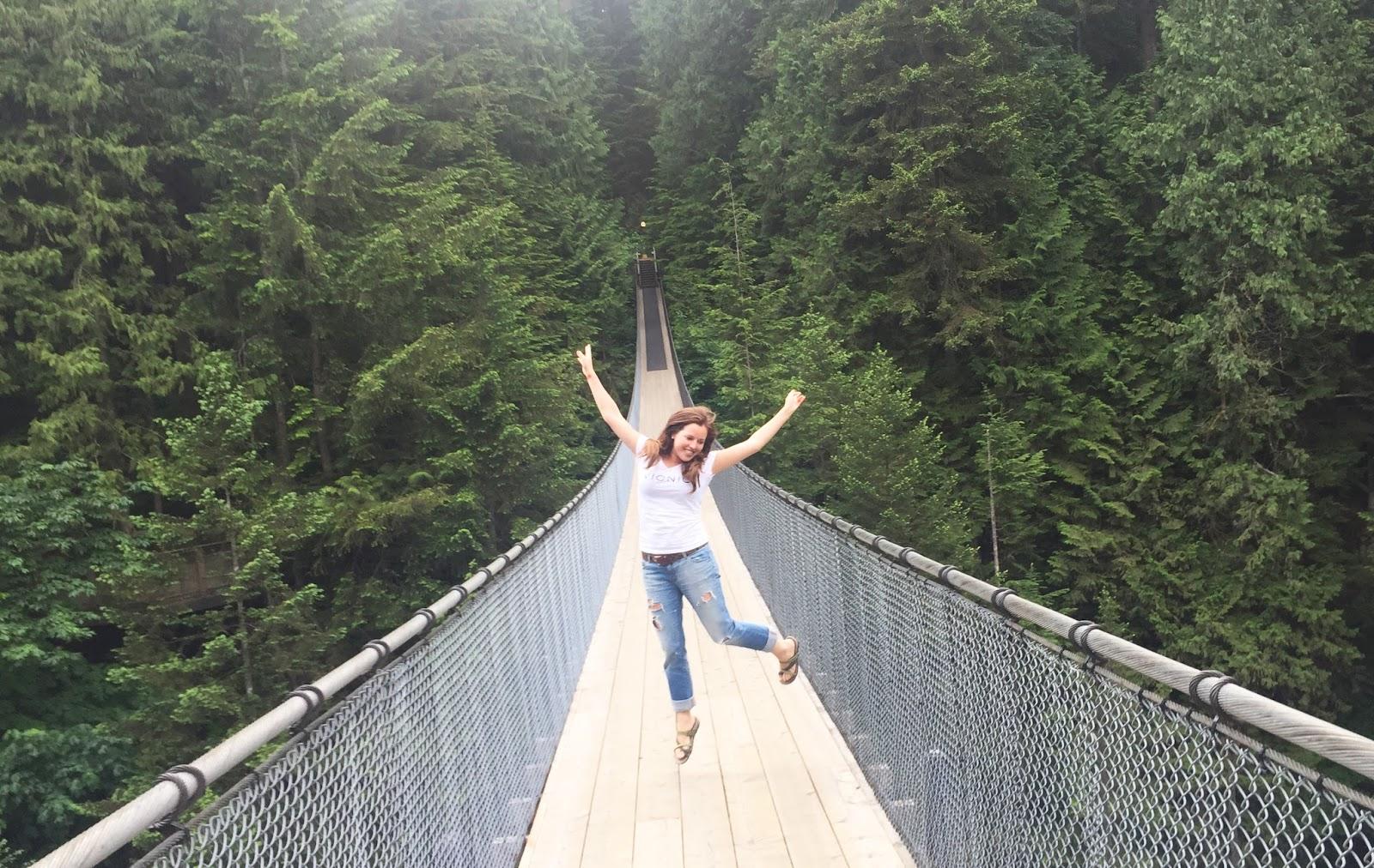 Sara Russell Capilano Suspension Bridge