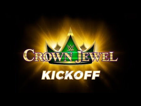 Poster Of WWE Crown Jewel KickOff 2nd November 2018 HDTV 480P 300MB