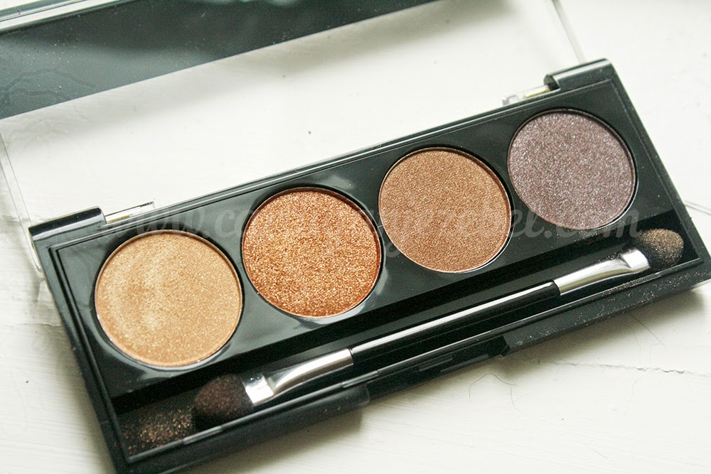 W7 Cosmetics toasted palette review
