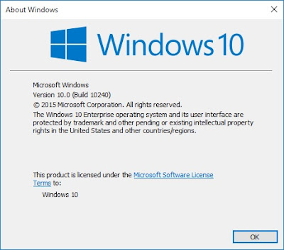 Download Windows 10 Build 10240 RTM Final