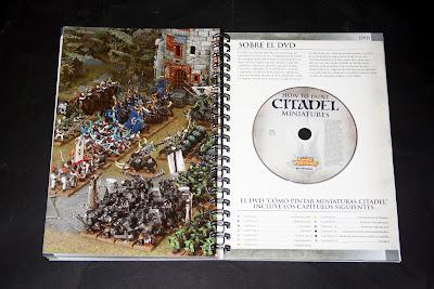 DVD de como pintar miniaturas citadel