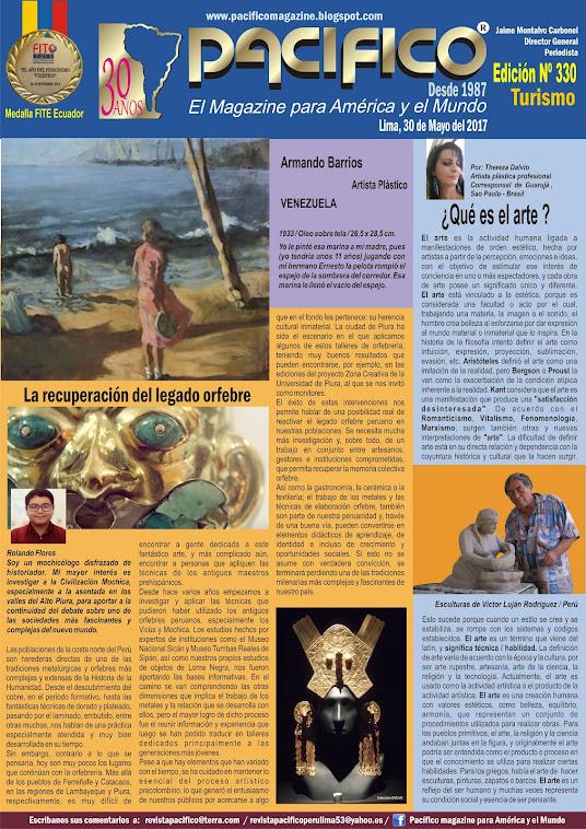 Revista Pacífico Nº 330 Turismo
