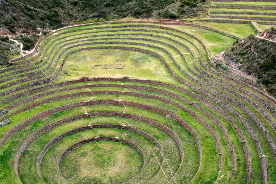 Campos de cultivo de Moray