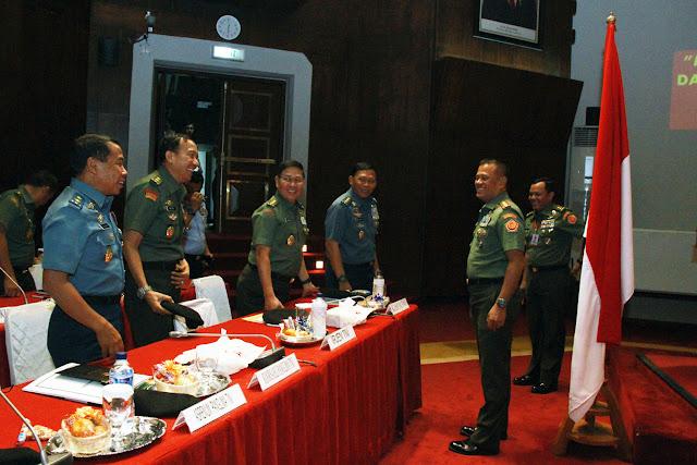 Panglima TNI : Tingkatkan Semangat dan Kesiapsiagaan Operasi