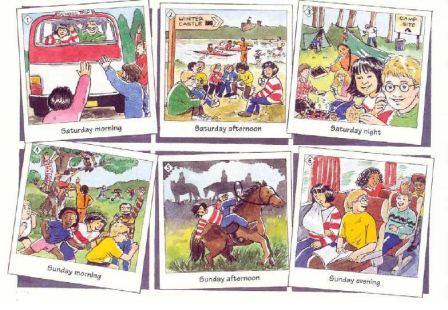 Cerita Bergambar Untuk Pelajaran Bahasa Inggris