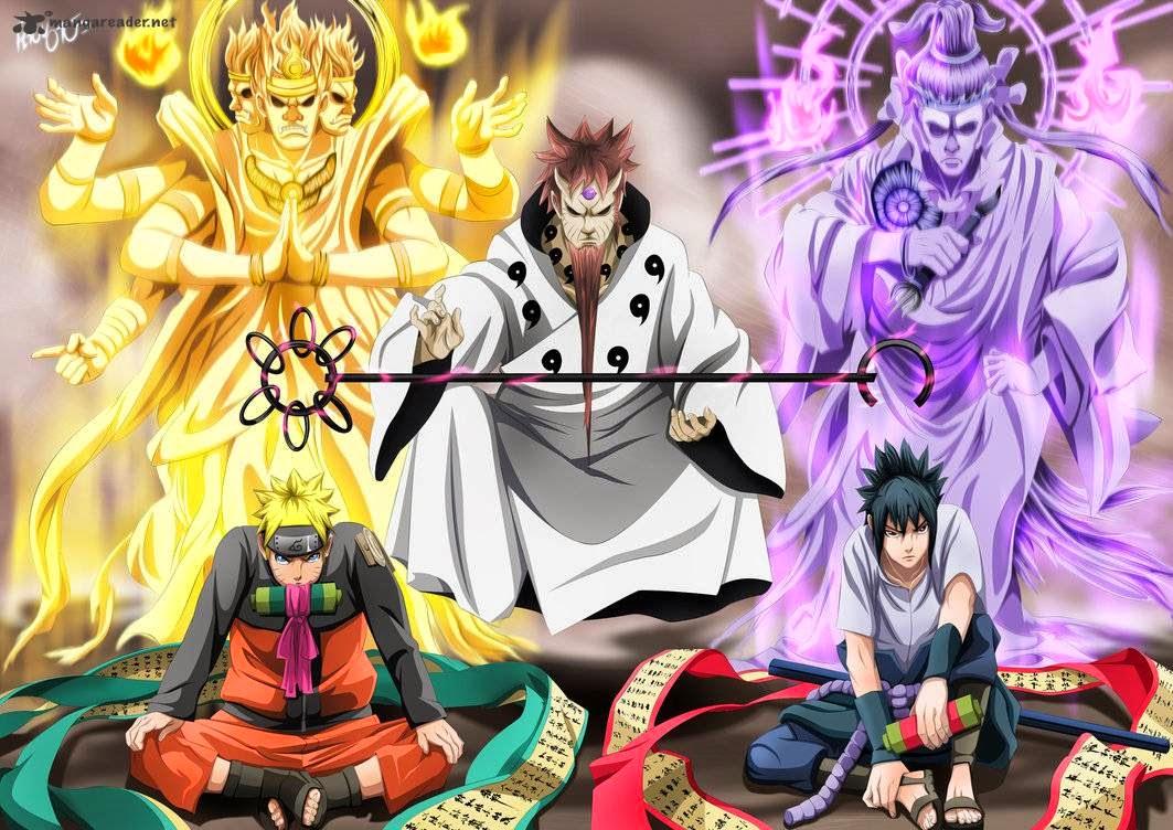 Naruto videos and manga naruto 674 sasuke s rinnegan - Naruto and sasuki ...