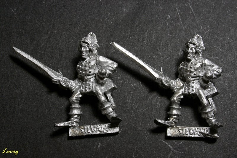 Elfo Silvano con espada, Sword 11 de referencia 074213/22