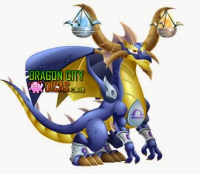 Dragão Libra do Zodíaco