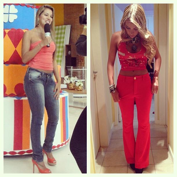Após perder 12 kg, ex-BBB Adriana mostra novo manequim: 'Me assusto'