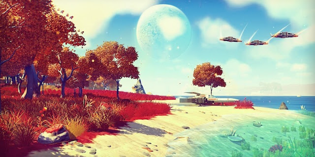 No Man's Sky Preview beach