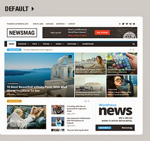 Newsmag - News Magazine Newspaper WP Theme Responsive