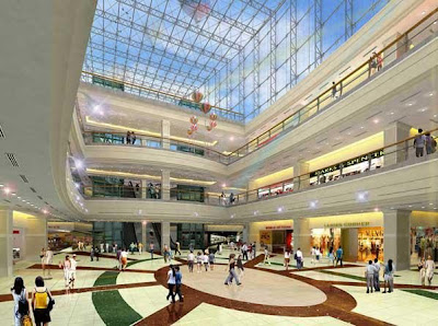 Interior of Lulu Mall Cochin