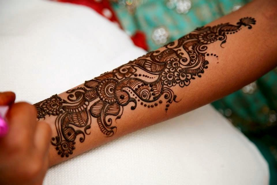 Latest Mehndi Designs Collection for Eid