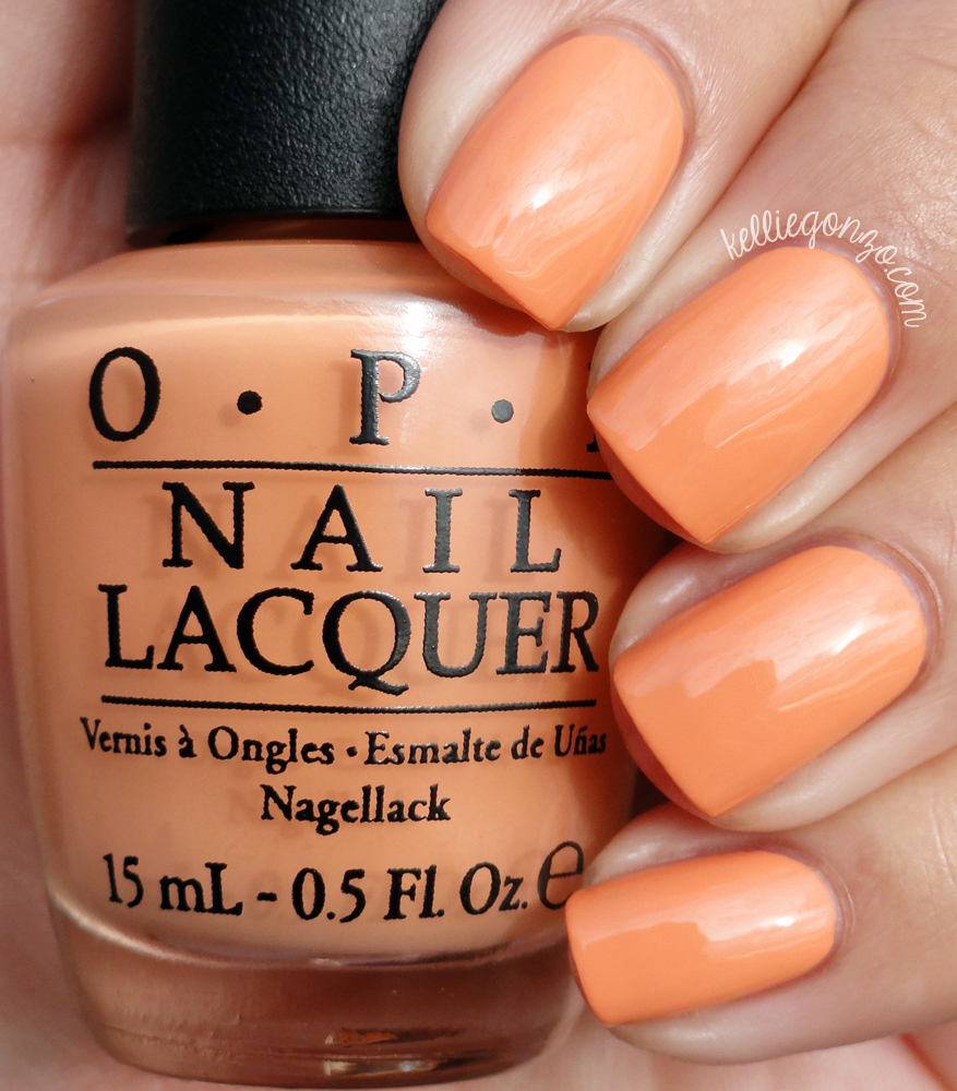 OPI Is Mai Tai Crooked? Hawaii Collection