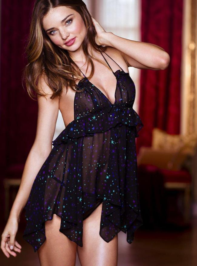 Victoria's Secret Very Sexy Seduction Bra Collection featuring Miranda Kerr