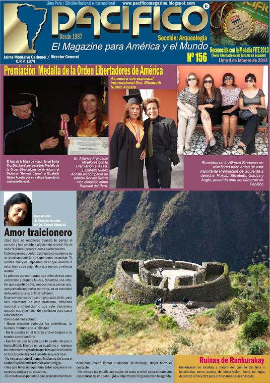 Revista Pacífico Nº 156 Arqueología