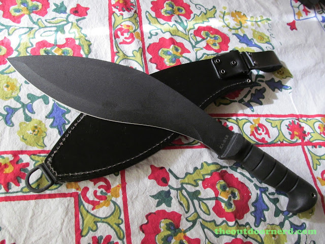 Ka-Bar Kukri Machete - Next To Sheath