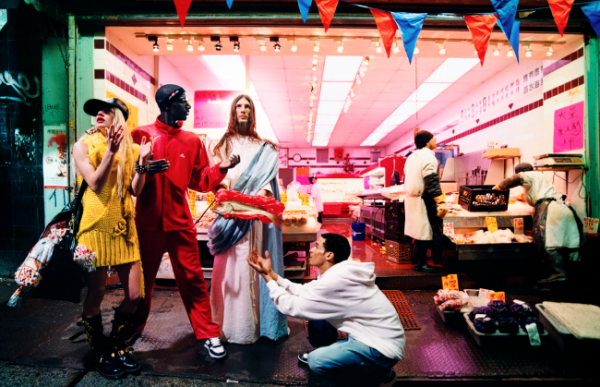 David LaChapelle, Loaves and Fishes