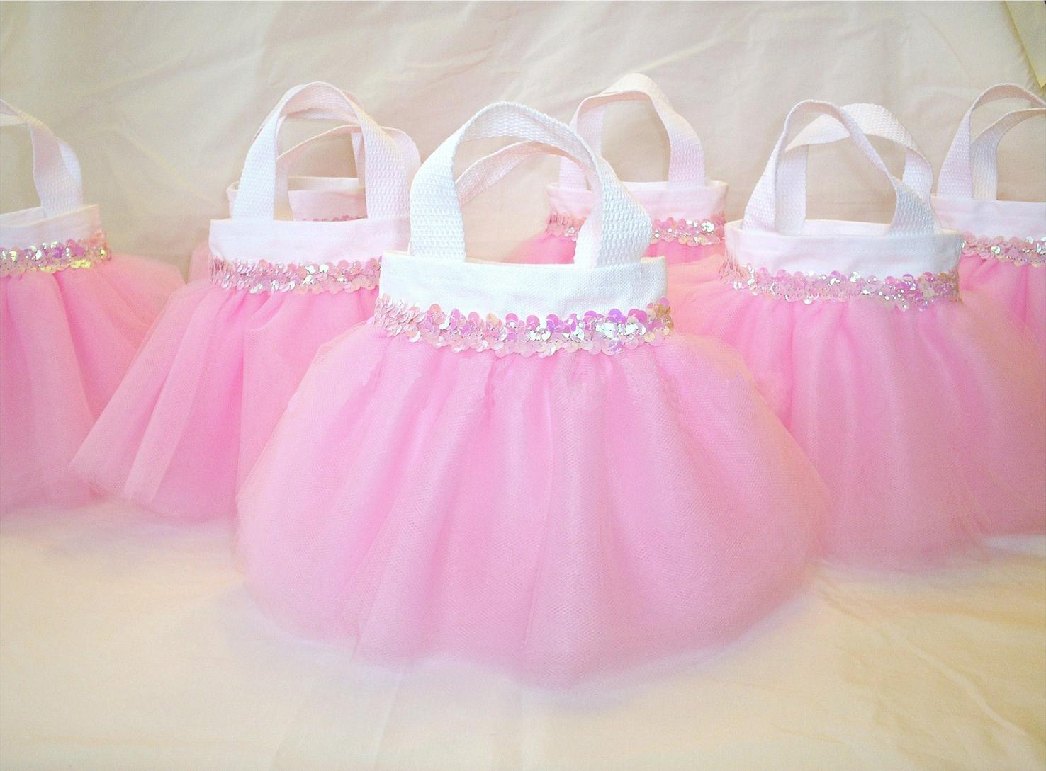 Pink Tutu Baby Shower Party Favors
