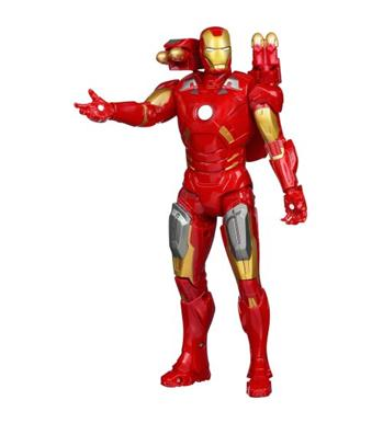avengers power attack iron man 25 cm 