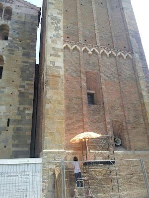 Venture capital: restauro campanile del Duomo di Parma