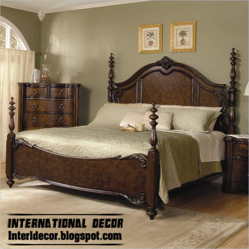 Turkish bed designs for classic bedrooms furniture for Bedroom bed designs images