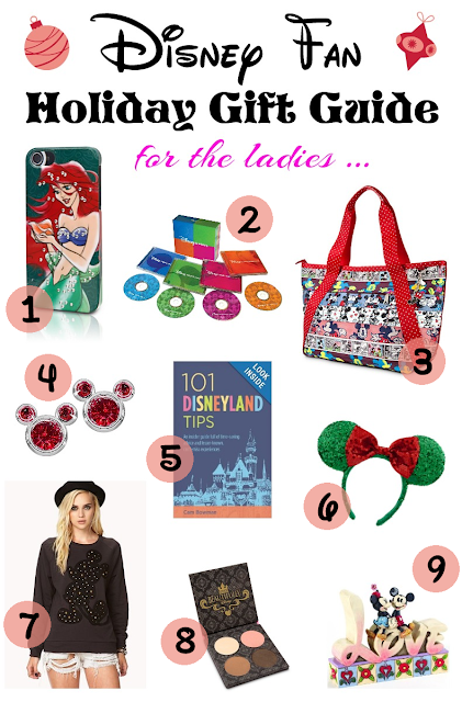 The Disney Fan's Holiday Gift Guide 2013 - For the Ladies