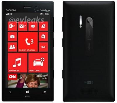 Inilah Penampakan Nokia Lumia 928