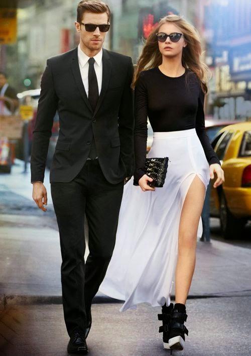 Casais que combinam os look o que vestem