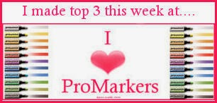 22 januari in de top 3 bij I Love Promarkers