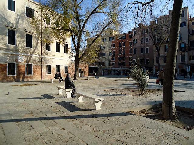 Campo del Ghetto Nuovo, Cannaregio, Venice