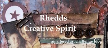 Rhedds Creative Spirit Challenge - inspiring illustrations on the design team