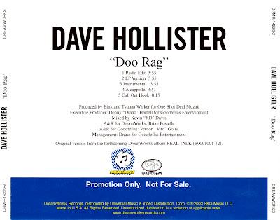 Dave Hollister - Doo Rag-(Promo_CDS)-2003