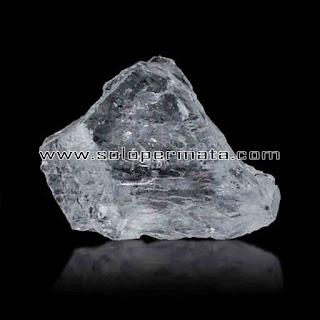 Batu Permata | Natural Ice Quartz Asli | Kecubung ES