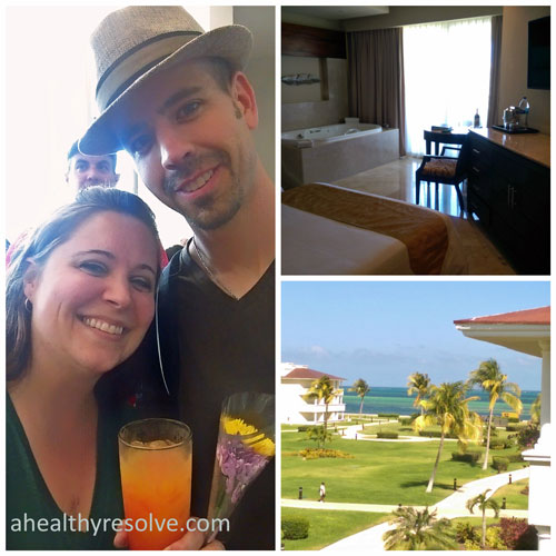 Checking in, our room & the beautiful ocean view - 2015 Success Club Trip