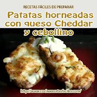 patatas, mantequilla,cebollín, crema de leche,queso,sal