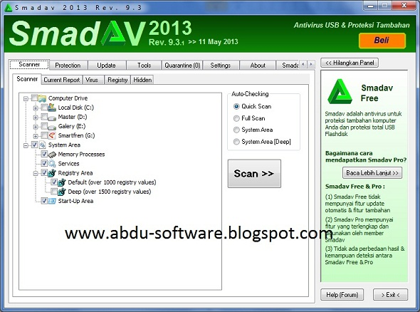 Free Download Smadav 2013 Rev. 9.3.1 Final Update Terbaru 2013
