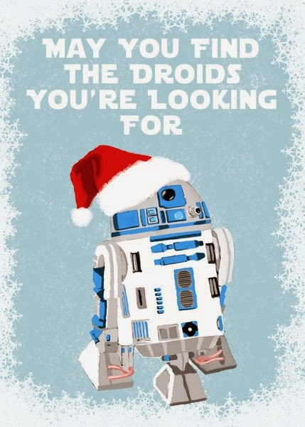 May you find the Droids you're looking for.
