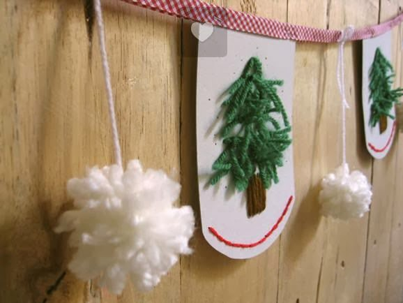 Homemade christmas tree decorations home decorating ideas for Homemade tree decorations