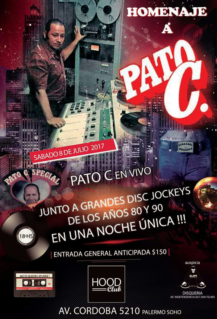 Evento Imperdible todos por Pato C