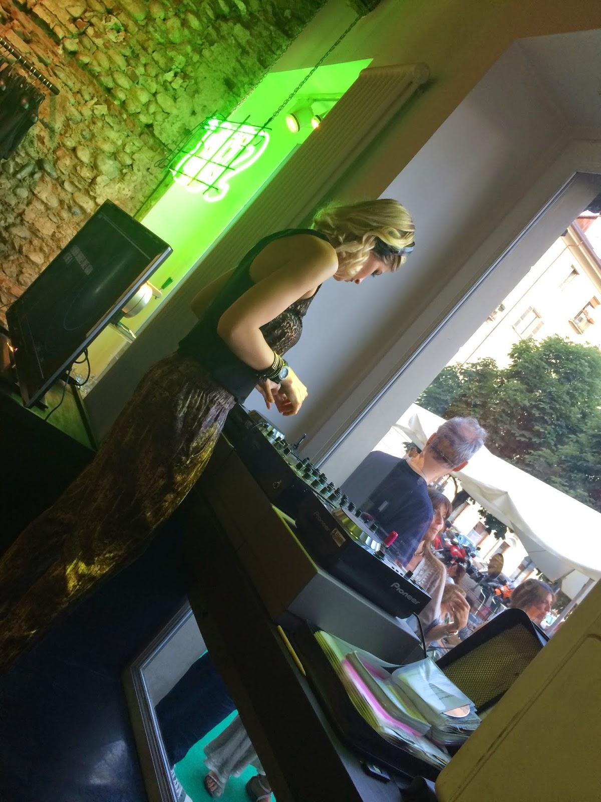 giulia napoli, Anfisa Letyago, evento , piazza carlina
