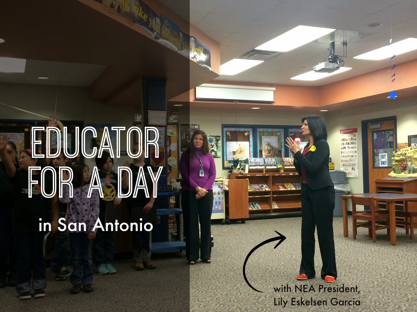 How Parents Can Support Teachers - My Educator For A Day Experience in San Antonio