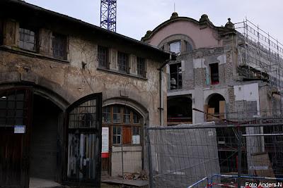 byggarbetsplats, renoveringsobjekt