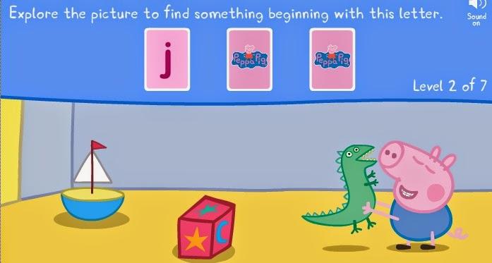 Peppa Pig And George Pairs Game Peppa Pig Online Games