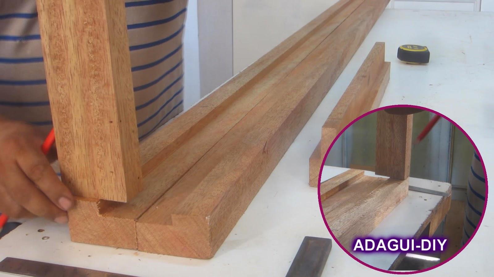 Como fabricar marco para puerta contraplacada de dormitorios ...