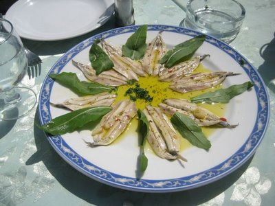 Marinated anchovies, Monastic Recipe, Monastic Recipes of Mount Athos
