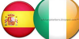 Prediksi Skor Spanyol vs Irlandia | Jadwal Live Streaming Euro Cup | RCTI Jum'at 15 Juni 2012
