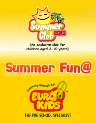 Summer Club 2013 @ Euro Kids