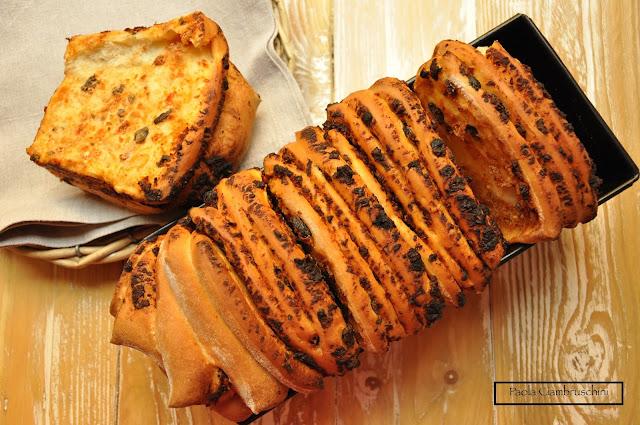 fisarmoniche di pane bimby